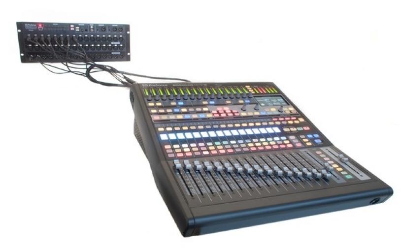 Test     Digital-Mischpult     Presonus StudioLive CS18AI + RM32AI