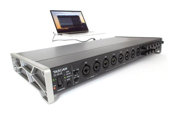 Test: USB-Audio-Interface Tascam US-20×20