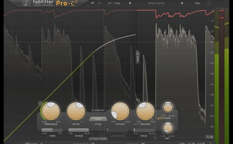 Test: Kompressor-Plug-in FabFilter Pro-C 2