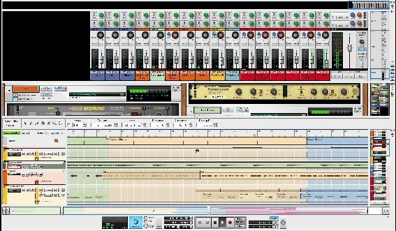 Test: Virtuelles Instrument/Sequenzer Propellerhead Reason 5 und ...