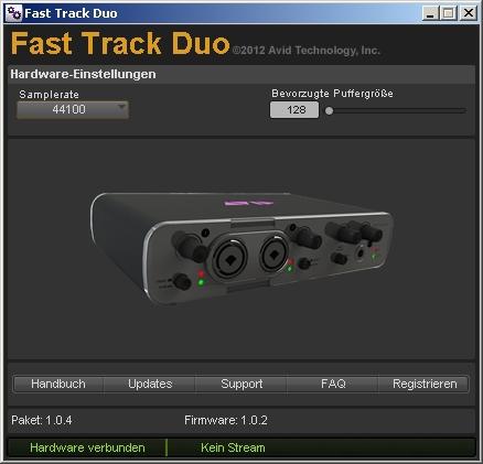 test usb audio interface avid fast track solo und duo professional audio aufnehmen. Black Bedroom Furniture Sets. Home Design Ideas