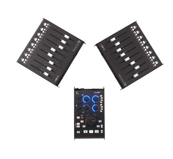 Test:     DAW-Controller     Asparion D400T + D400F