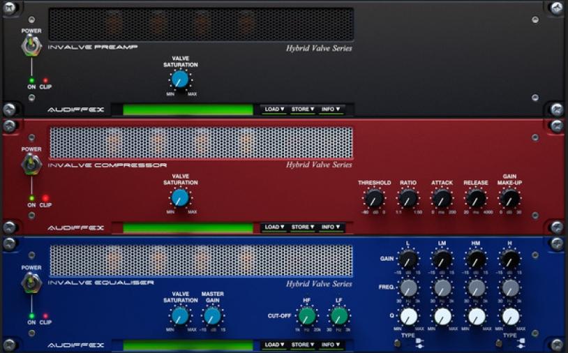 News: Neuauflage der Audiffex inValve Effects