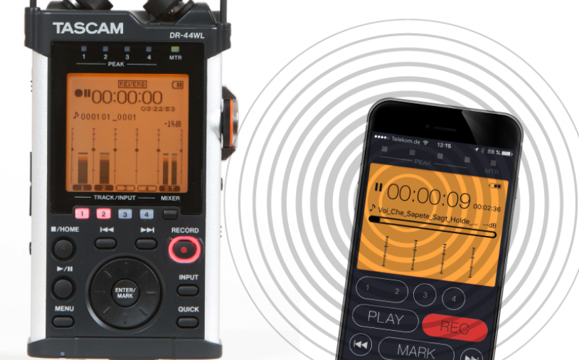 Test: Stand-alone-Recorder Tascam DR-44WL