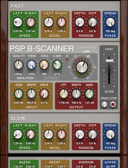 News: Neues Chorus-/Vibrato-Plug-in PSP B-Scanner