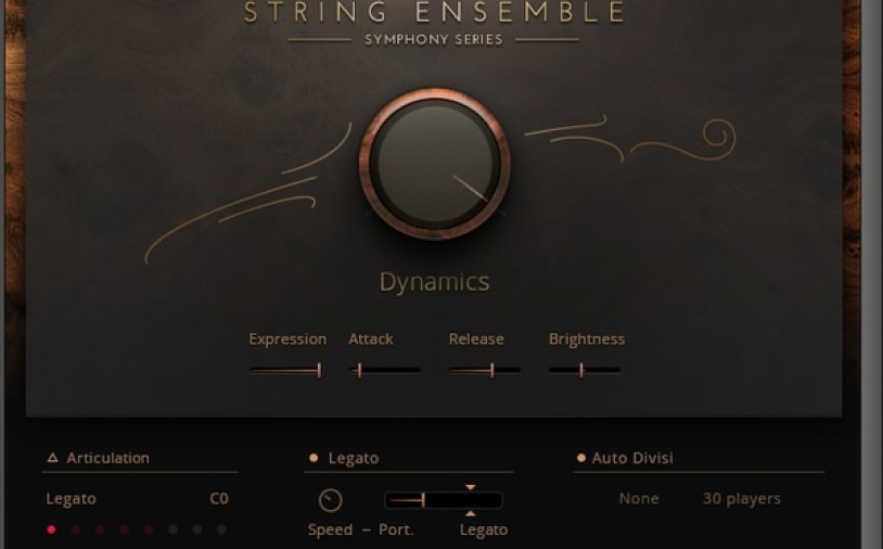 Test: Sample-Library Native Instruments Symphony Series String Ensemble