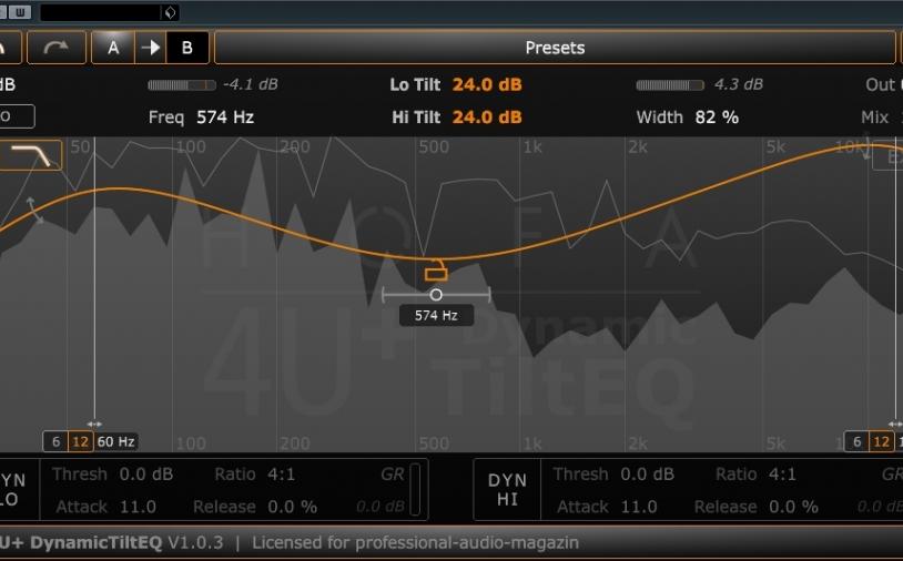 Kurztest: HOFA 4U+ Dynamic TiltEQ