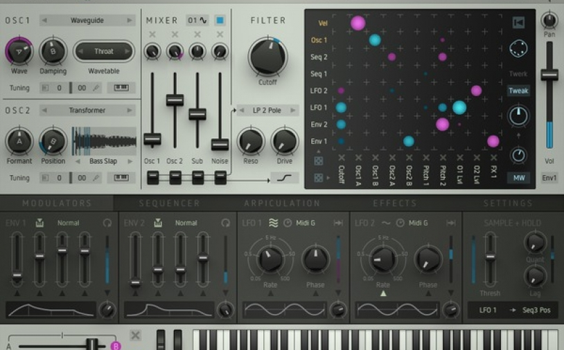 News: Neuer Poly-Synth Sugar Bytes Factory