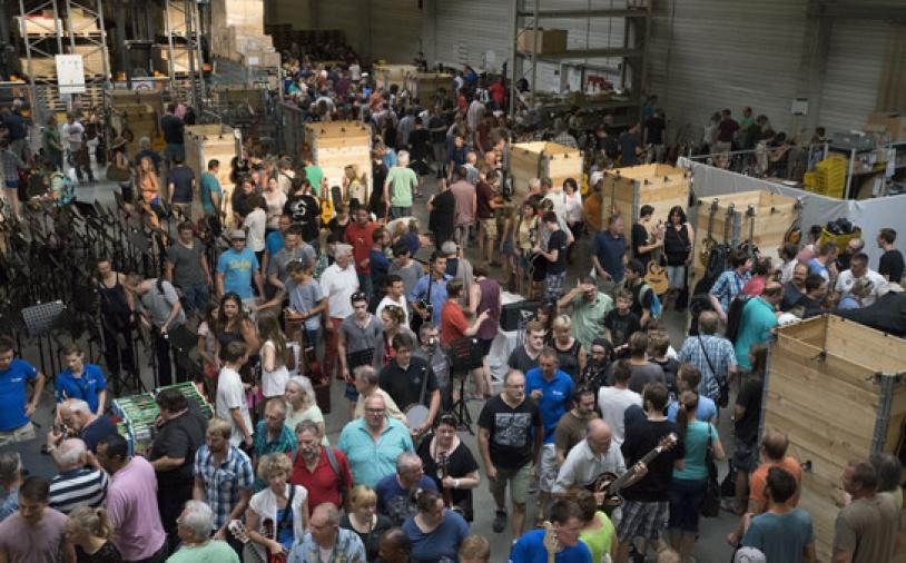 News: Thomann-Musikerflohmarkt 2016