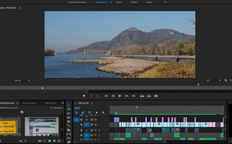 Workshop: Video-Schnitt Basics in Adobe Premiere Pro