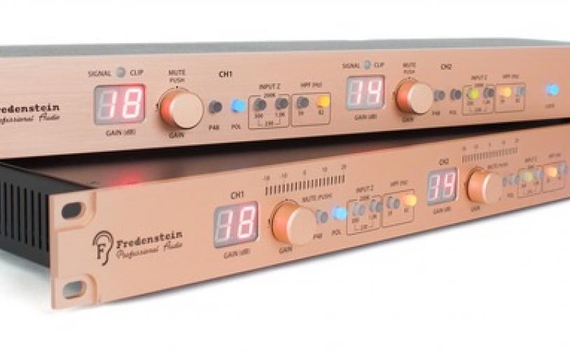 Test: Mikrofon-Vorverstärker Fredenstein HD Reference Stereo Mic-Preamp
