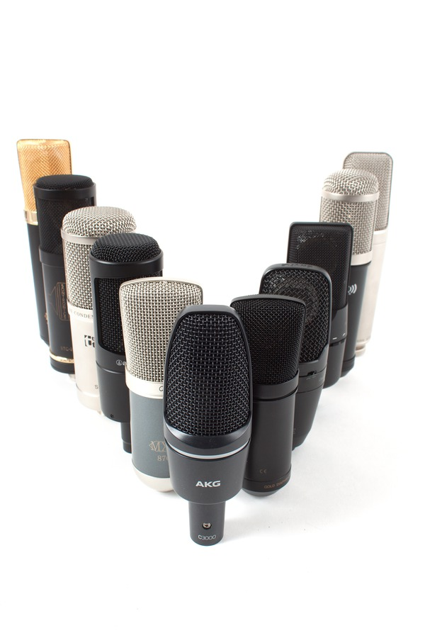 Vergleichstest: Günstige Großmembran-Mikrofone