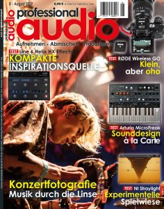 Professional audio 08/2019