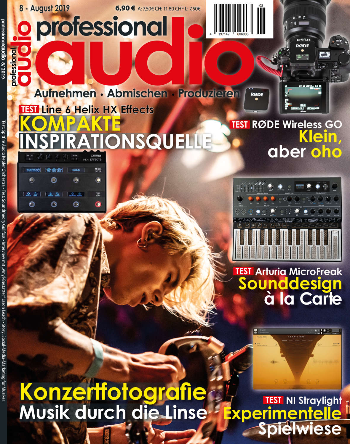 Professional audio 08/2019