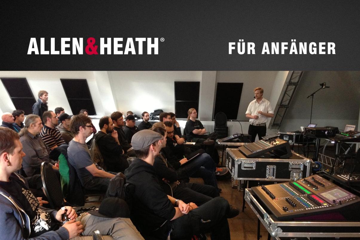 News: Allen & Heath bietet kostenfreie Seminare in Mainz-Kastel an