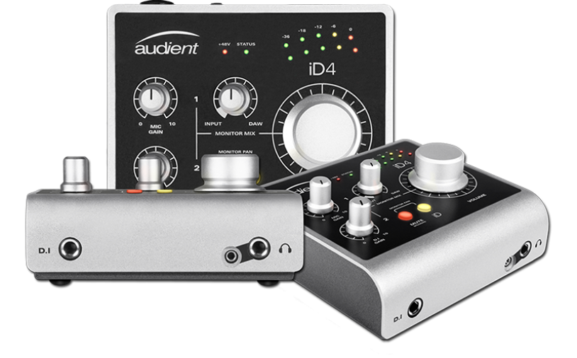 News: Audient stellt das kompakte Zweikanal-USB-Audio-Interface iD4 vor