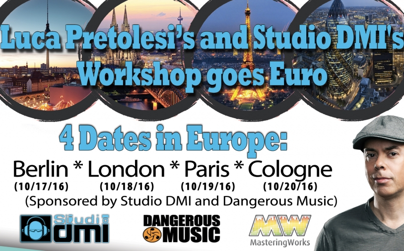 News: Workshops mit Luca Pretolesi