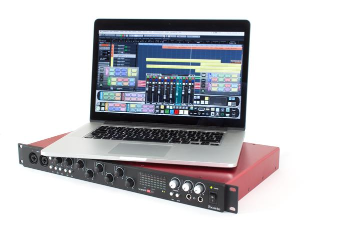 Test: USB-Audio/MIDI-Interface Focusrite Scarlett 18i20 2nd Gen.