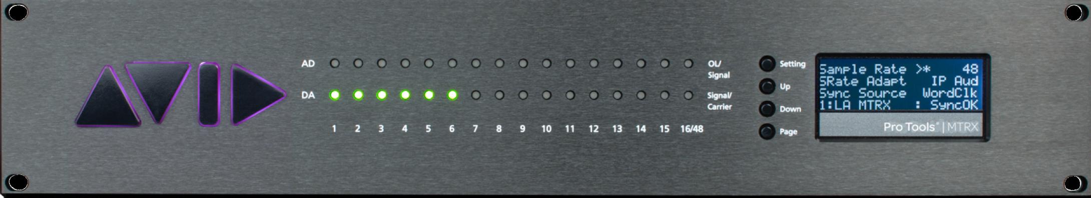 News: Neues Avid Interface in Zusammenarbeit mit Digital Audio Denmark