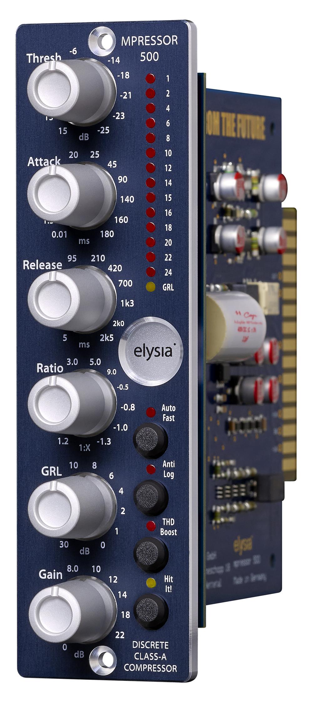News: elysia mpressor als 500er-Modul