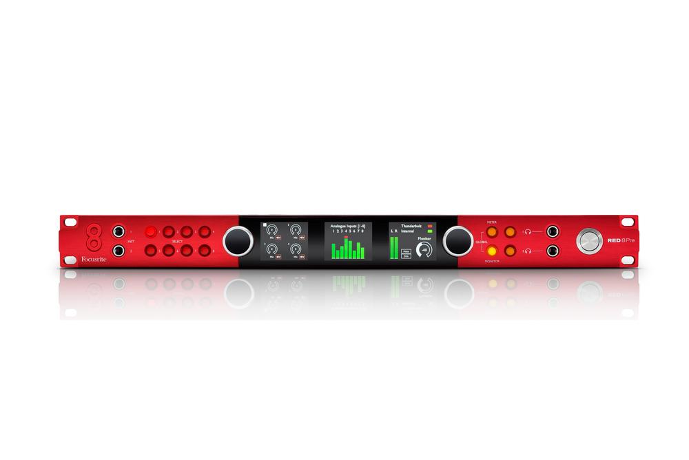 News: Focusrite stellt neues Spitzenmodell der Red-Serie vor
