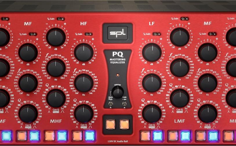 News: SPL bringt einen neuen Mastering-EQ aus der 120V-Produktreihe auf den Markt