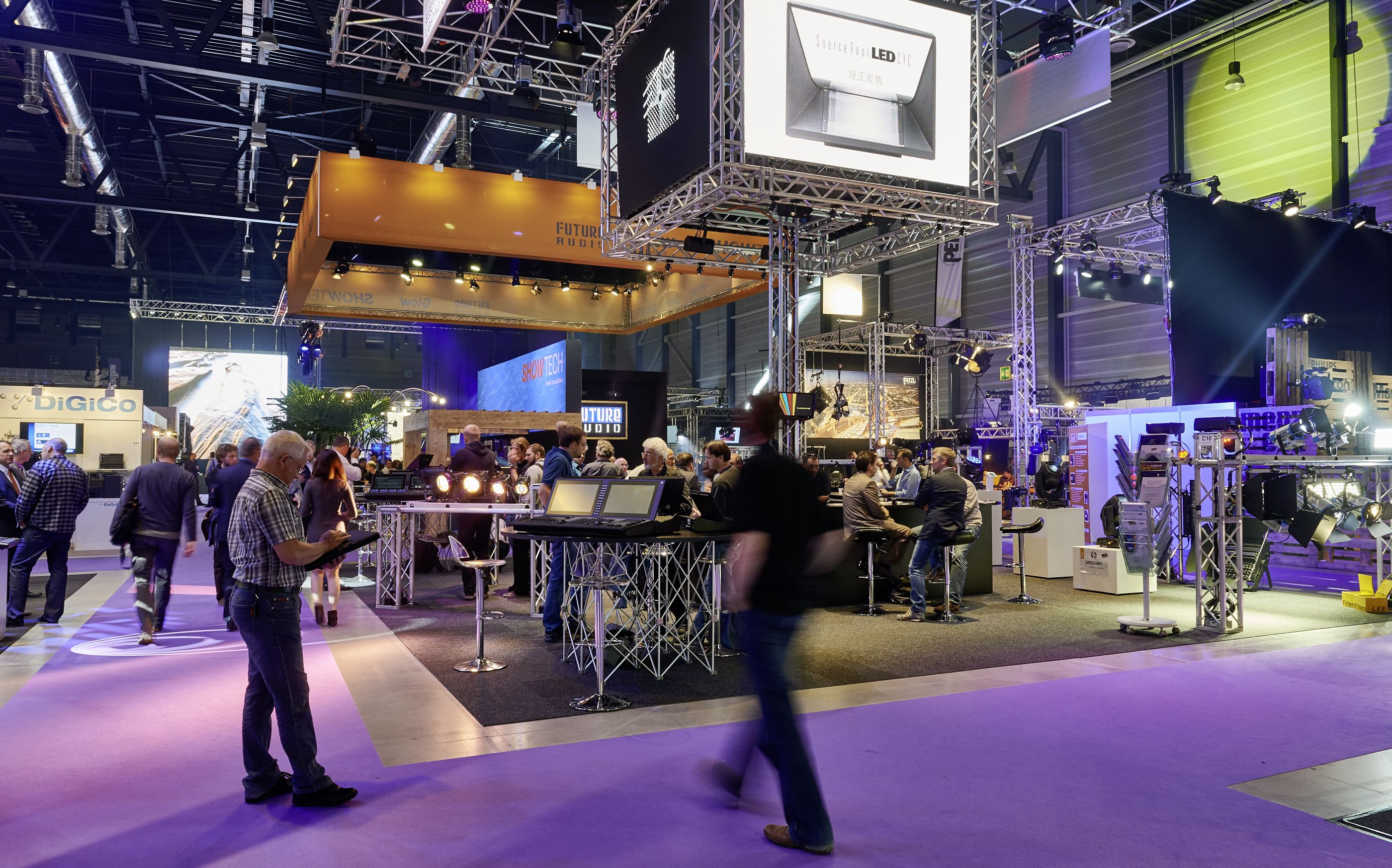 News: Messe Luzern: light & sound und Integrated Media Solutions