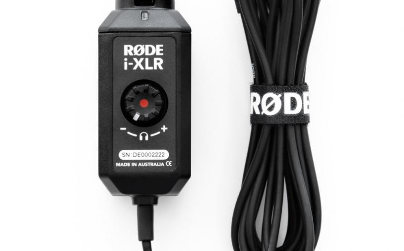 News: XLR-auf-Lightning-Interface von RØDE erhältlich