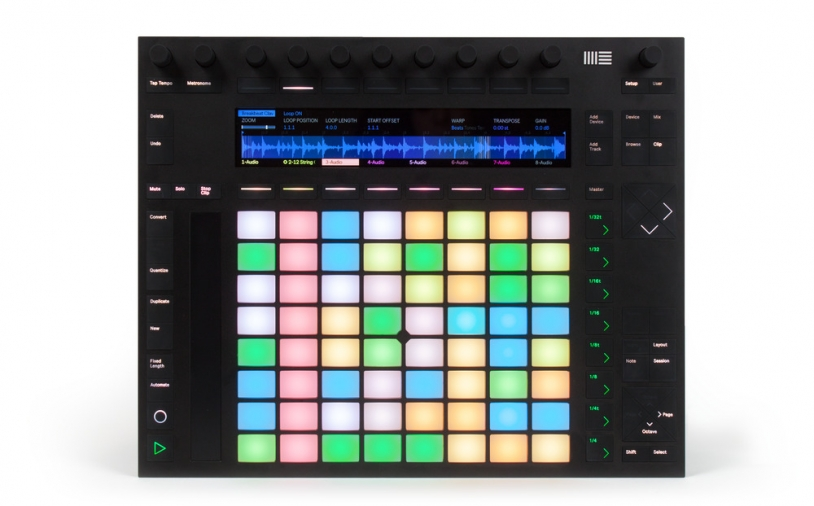 Test: Instrument/DAW-Controller Ableton Push 2