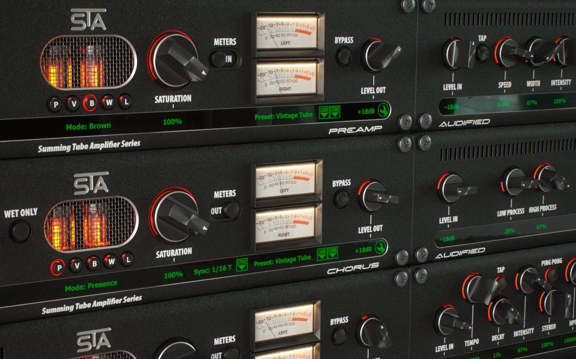 Test: Plug-in-Bundle Audified STA Effects