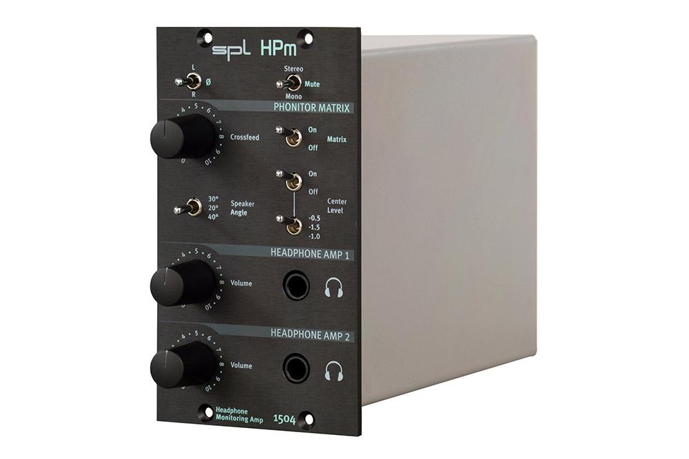 News: 500er-Kopfhörerverstärker von SPL mit Phonitor Matrix