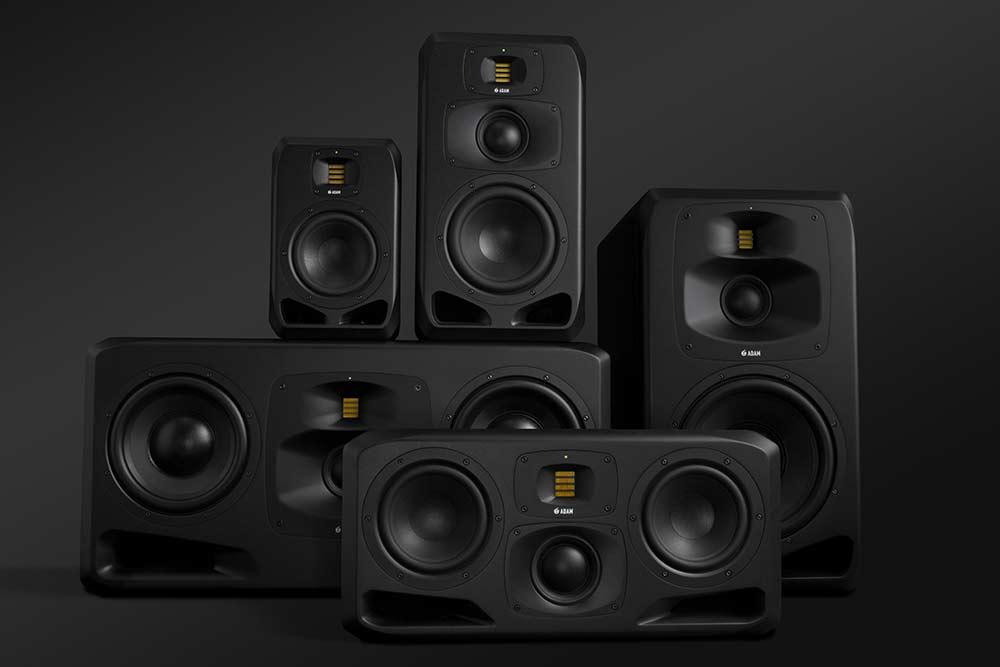 News: ADAM Audio stellt Studio-Monitore der neuen  S-Serie vor