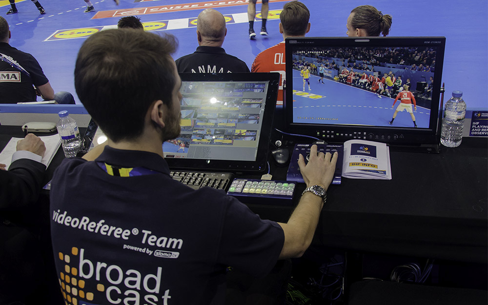 News: Broadcast Solutions: Video Beweissystem bei der IHF Handball Weltmeisterschaft 2017