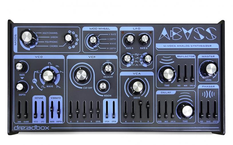News: Neuer Dreadbox Synthesizer: Abyss