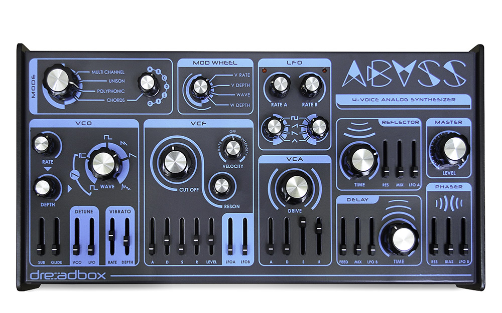 News: Neuer Dreadbox Synthesizer: Abyss