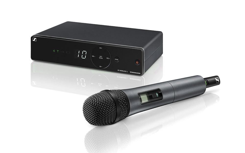 News: Sennheiser präsentiert XS Wireless Mikrofonsysteme