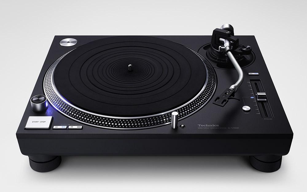News: Technics Plattenspieler SL-1200GR und SL-1210GR