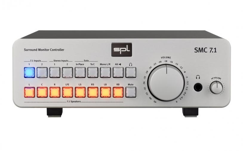 News: SPL – Surround Monitor Controller SMC 7.1