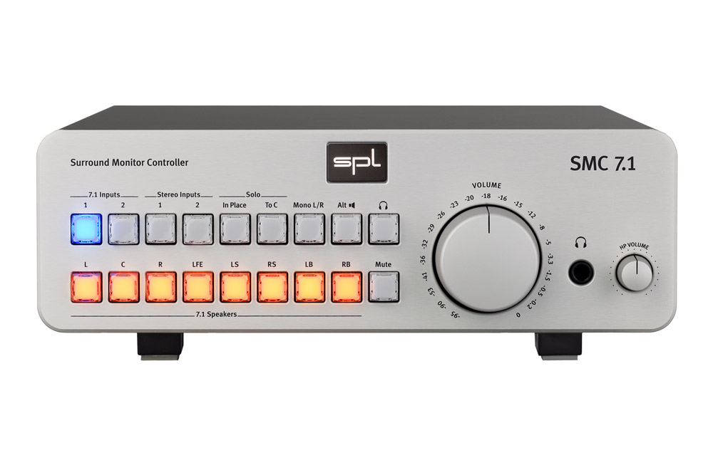 News: SPL – Surround Monitor Controller SMC 7.1