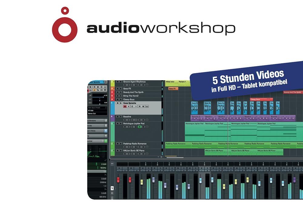 News: Audio-Workshop veröffentlicht neue Cubase Tutorials