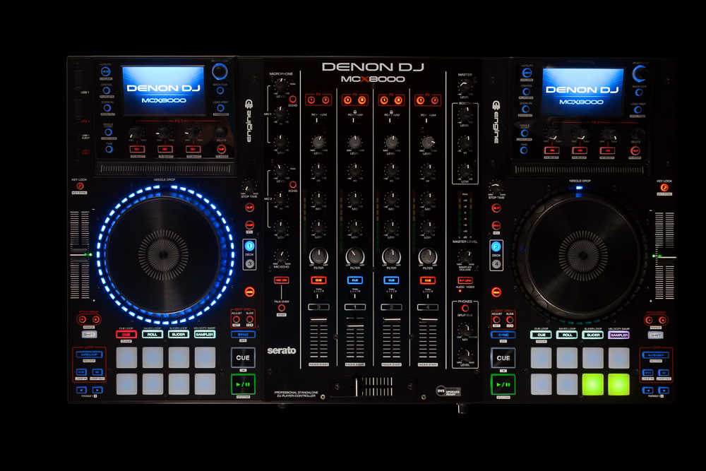 DJ Special: Portrait Denon MCX8000