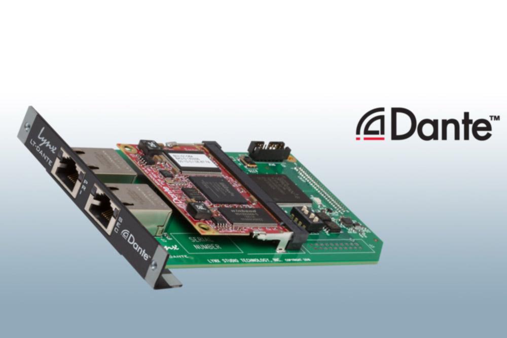 News: Lynx bietet Dante-Erweiterungskarte für die Wandler Aurora und Hilo