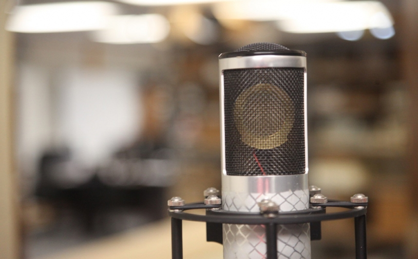Messe-News: Manley Labs Reference Silver Microphone
