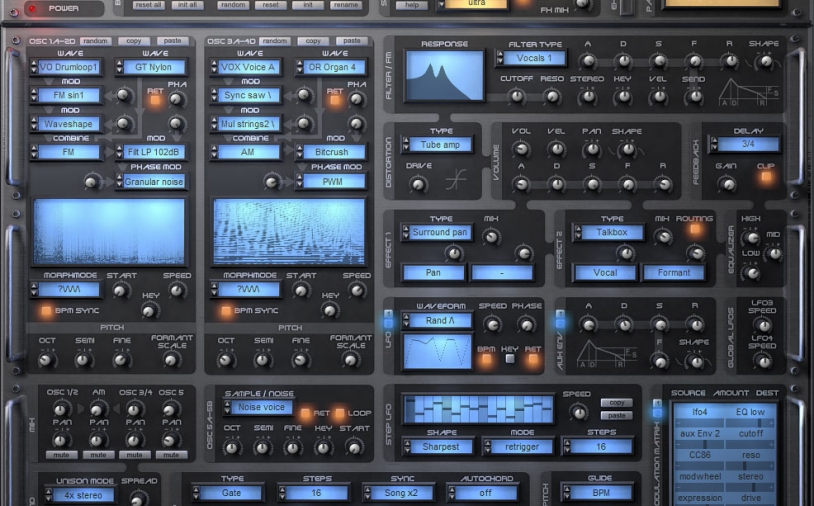 News: Tone2 Gladiator Synthesizer Version 2.6