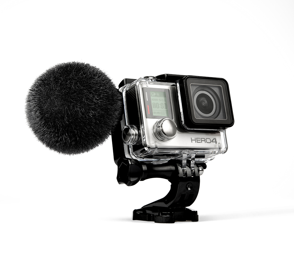 News: Sennheiser MKE 2 elements Mikrofon für GoPro Hero4