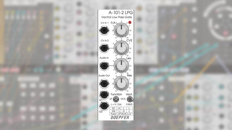 News: Doepfer A-101-2 Vactrol LPG für Softube Modular