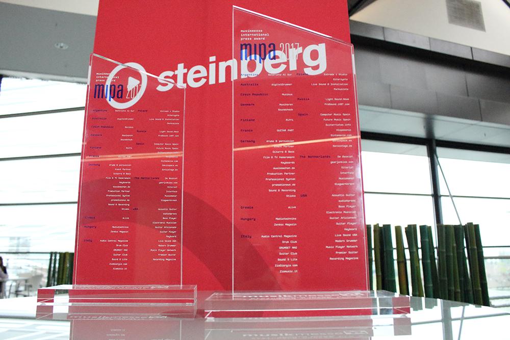 News: Presse-Award Gewinne für Steinberg Cubase und Cubasis