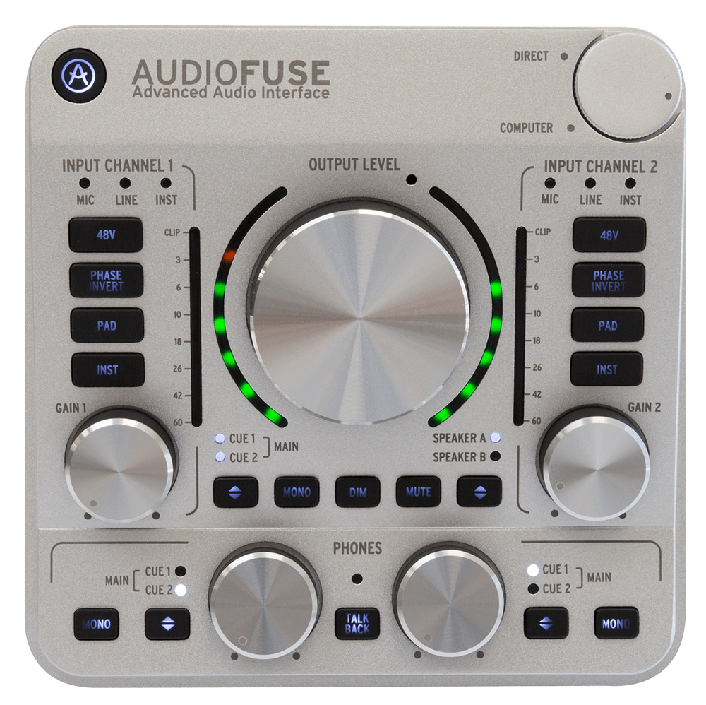 News: Arturia liefert AudioFuse Interface aus