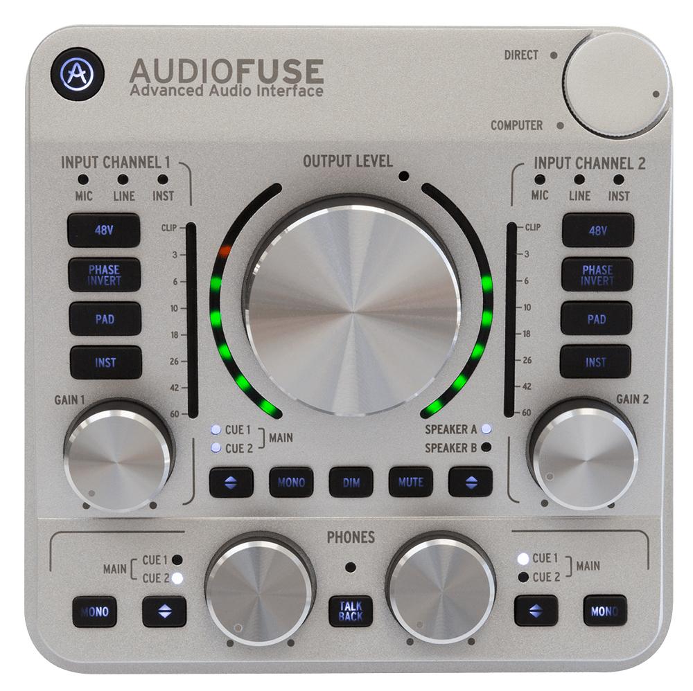 News: Arturia liefert AudioFuse Interface aus