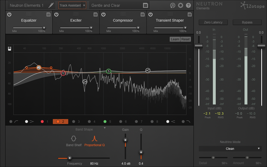 News: iZotope Neutron Elements